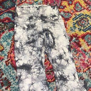 Lululemon full length tie dye leggings